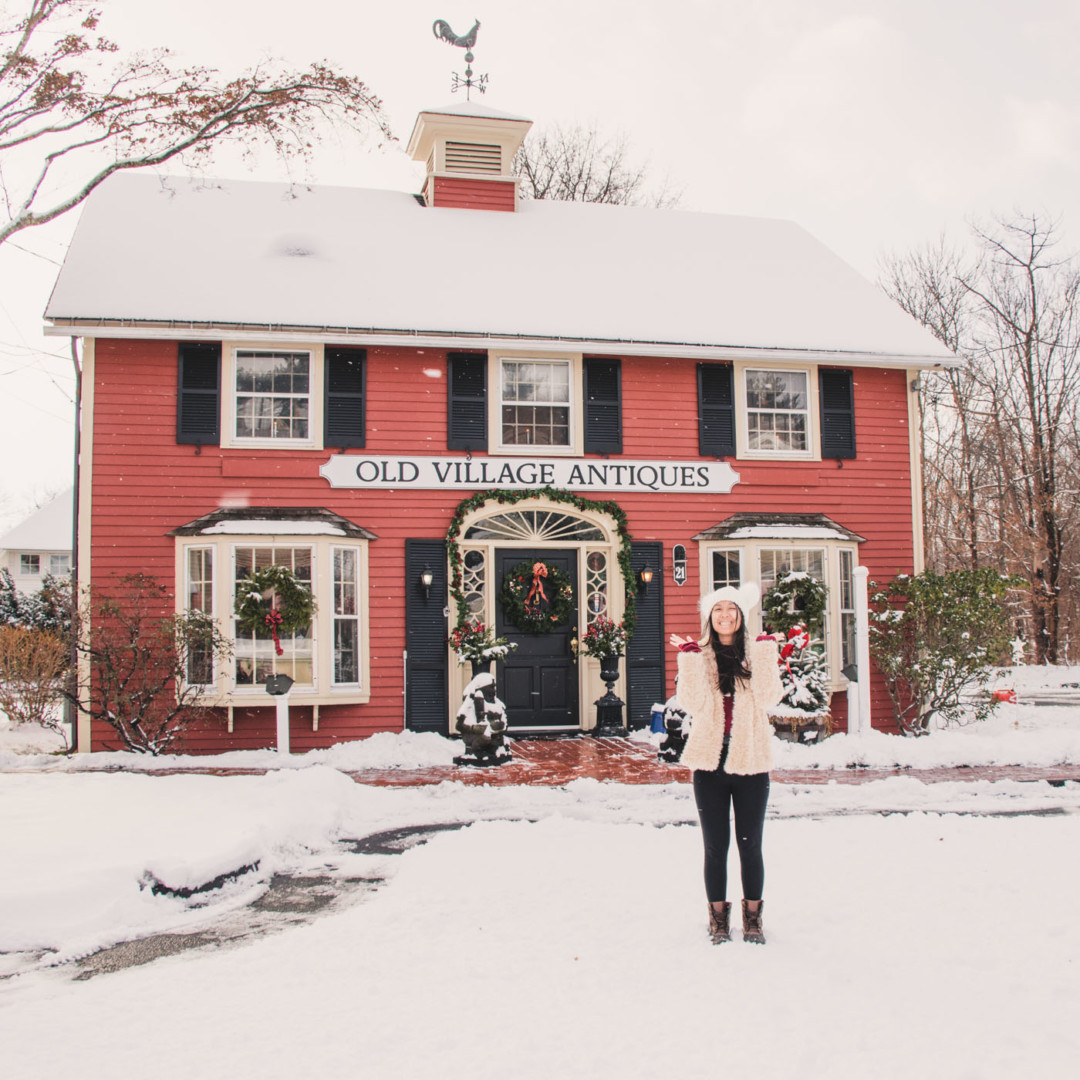 Christmas in New England - Simply Lovebirds