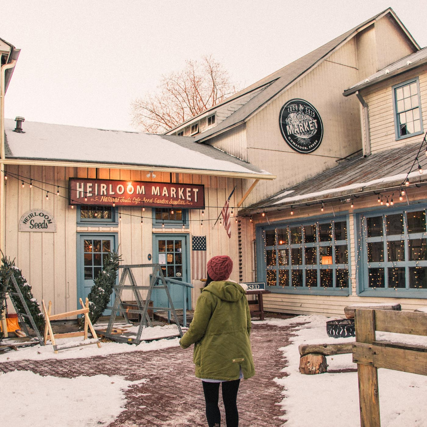 Cutest Winter Town in Connecticut - Simply Lovebirds