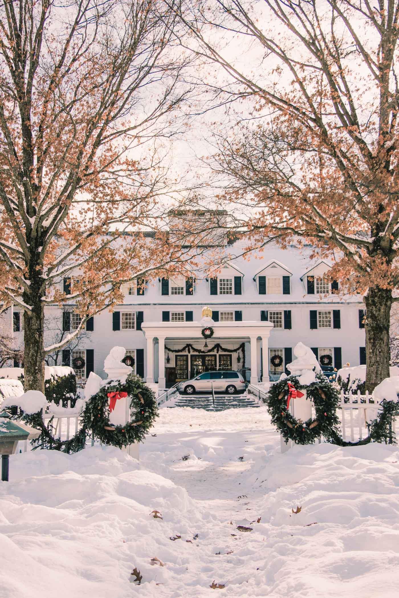 Woodstock Inn & Resort in the Winter, Vermont - Simply Lovebirds