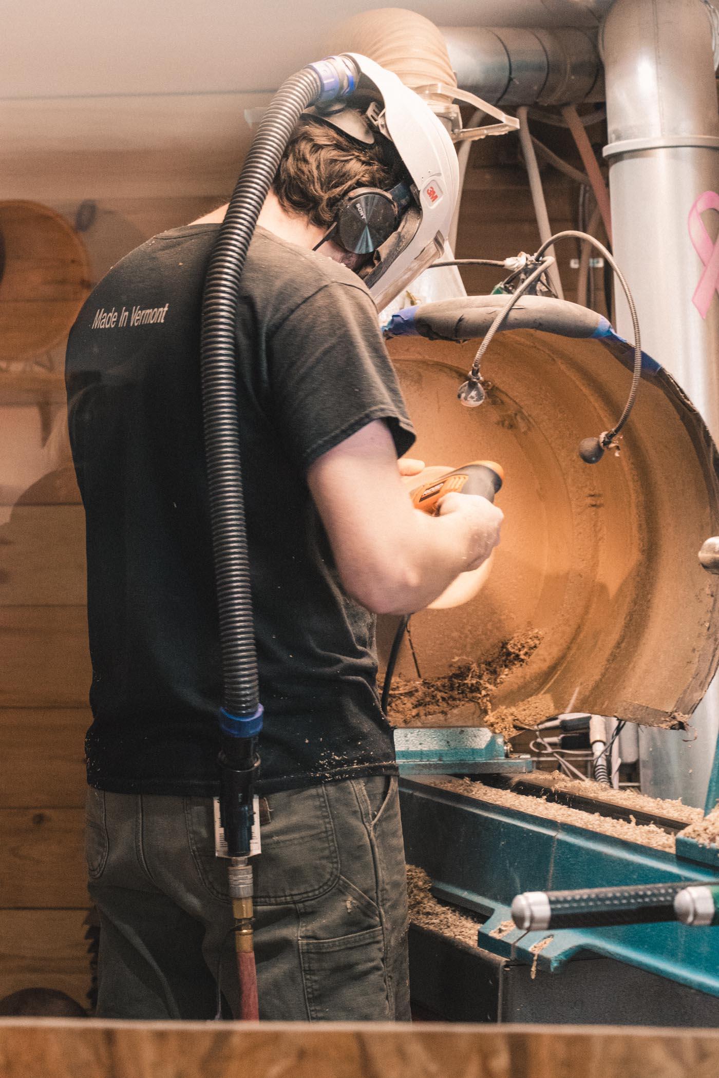 Artist in Andrew Pearce - Woodworking - Woodstock, Vermont